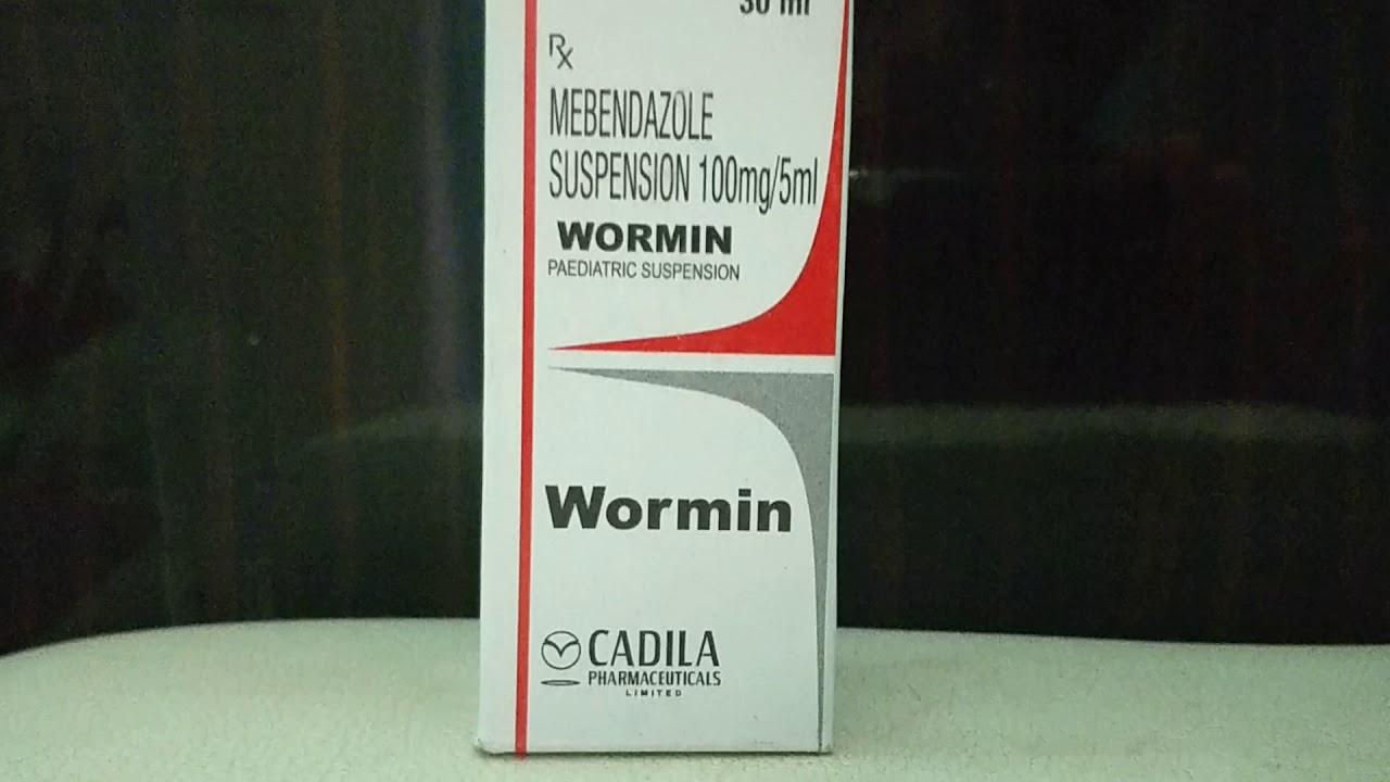 vermox alkalmazás a pinwormshez