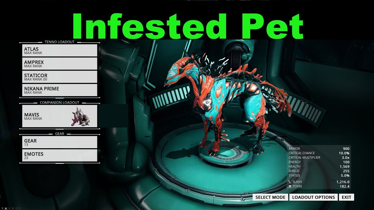 helmint infestoid warframe pinworms mi azok