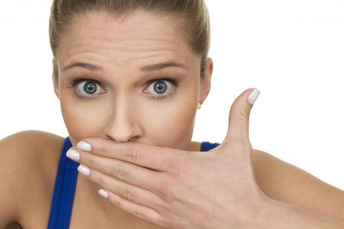 füstszag a szájból