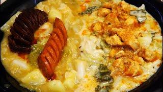 Kelkáposzta-főzelék régiesen