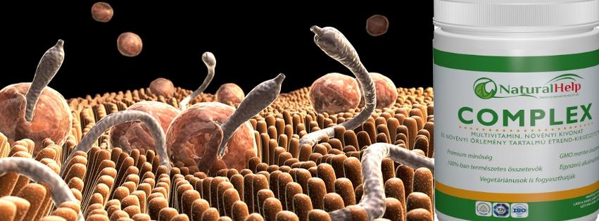 paraziták eltávolítására szolgáló készítmények